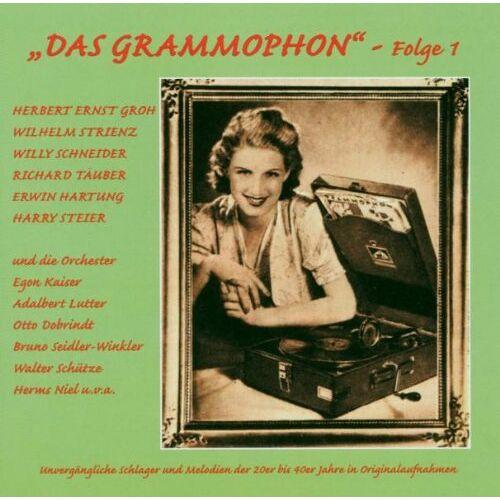 H.E. Groh - Das Grammophon-Folge 1 - Preis vom 22.06.2021 04:48:15 h