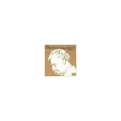 Albert Schweitzer - Albert Schweitzer Plays Bach 2 - Preis vom 21.06.2021 04:48:19 h