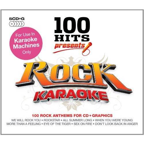 Karaoke - 100 Hits Rock Karaoke - Preis vom 18.06.2021 04:47:54 h