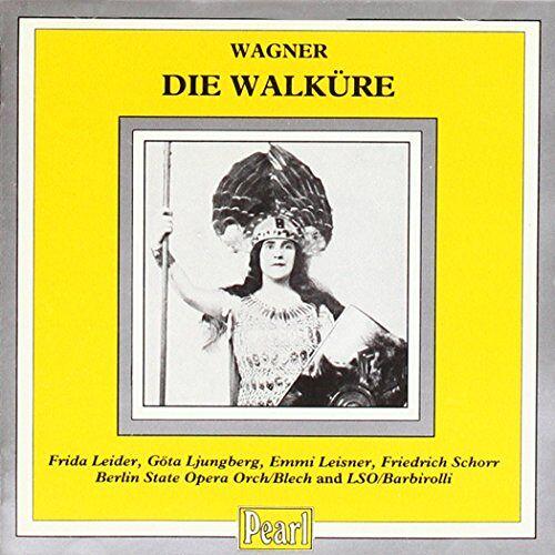 Frida Leider - Die Walküre 2. & 3. Akt - Preis vom 18.10.2021 04:54:15 h