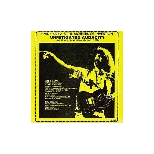 Frank Zappa - Unmitigated Audacity - Preis vom 17.06.2021 04:48:08 h