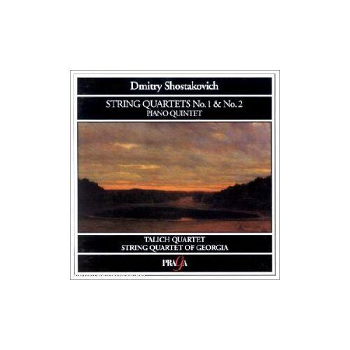 Talich Quart. - String Quartets No.1 und 2 / Piano - Preis vom 19.06.2021 04:48:54 h