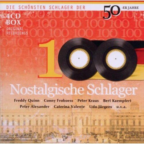Various - 100 Nostalgische Schlager - Preis vom 11.06.2021 04:46:58 h