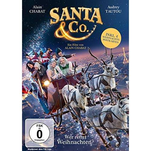 Alain Chabat - Santa & Co. - Wer rettet Weihnachten? (inkl. 4 Postkarten) - Preis vom 15.06.2021 04:47:52 h