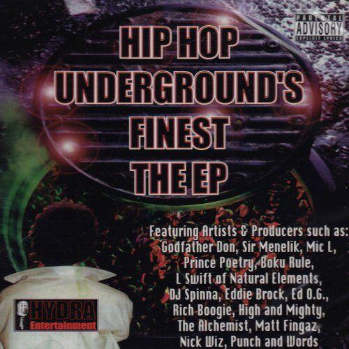 Va-Hip Hop Underground'S Fines - Hip Hop Underground's Finest E - Preis vom 18.06.2021 04:47:54 h