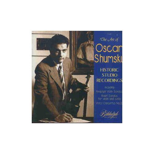 Oscar Shumsky - The Art of Oscar Shumsky - Historic Studio Recordings - Preis vom 15.06.2021 04:47:52 h