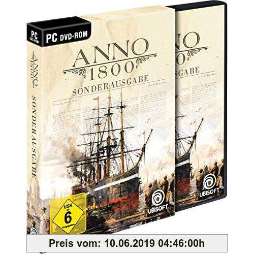 Ubisoft Anno 1800 Sonderausgabe (inkl. Soundtrack und Lithographien) - [PC]