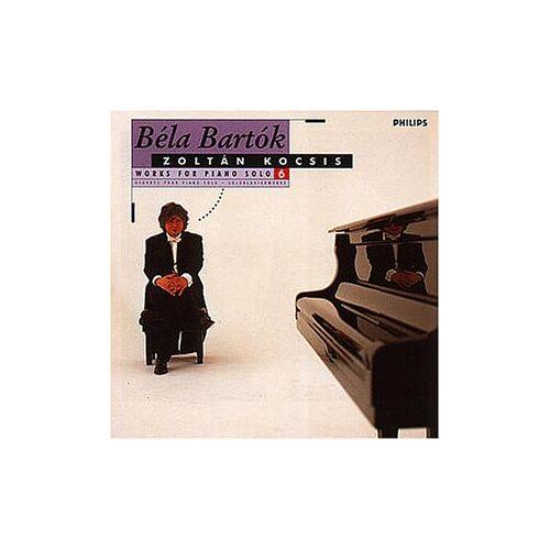 Zoltan Kocsis - Werke für Klavier solo Vol. 6 - Preis vom 21.01.2020 05:59:58 h