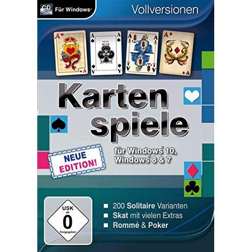 Magnussoft - Kartenspiele für Windows 10 - Neue Edition (PC) - Preis vom 21.01.2021 06:07:38 h