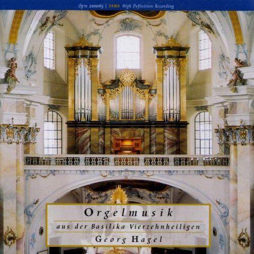 Georg Hegel - Orgelmusik a.Vierzehnheiligen - Preis vom 16.01.2021 06:04:45 h