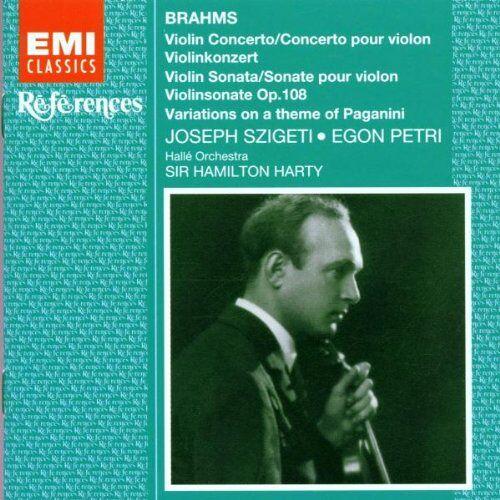 Szigeti - References - Brahms (Werke für Violine / Klavier) - Preis vom 18.04.2021 04:52:10 h