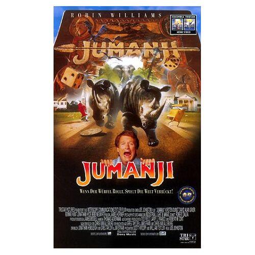 Joe Johnston - Jumanji [VHS] - Preis vom 22.02.2020 06:00:29 h