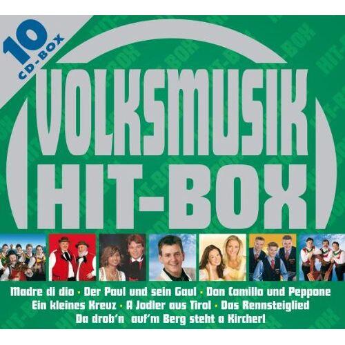 Various - Volksmusik Hit-Box - Preis vom 14.01.2021 05:56:14 h