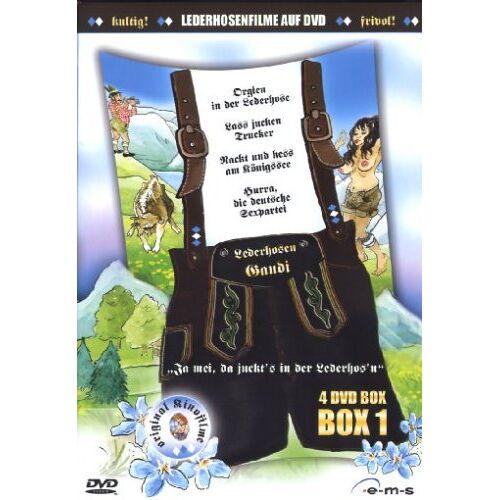 - Lederhosen Gaudi Box Vol. 1 (4 DVDs) - Preis vom 14.04.2021 04:53:30 h