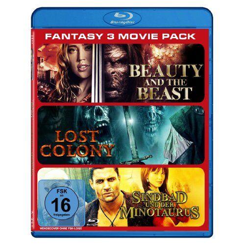 David Lister - Fantasy - 3 Movie Pack [Blu-ray] - Preis vom 12.05.2021 04:50:50 h