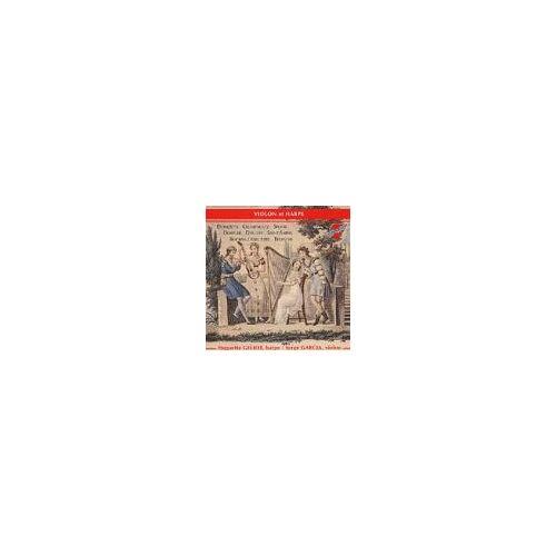 Geliot (Harfe), Gaecia (Violine) - Donizetti, Krumpholtz, Spohr, Debussy... - Preis vom 25.02.2021 06:08:03 h