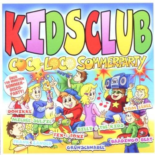Various - Kids Club/Coco Loco Sommerparty - Preis vom 28.01.2020 05:57:10 h