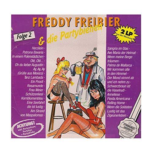 Freddy Freibier - Freddy Freibier & Die Partybienen Folge 2 (FOC) (2LP) [Vinyl LP] - Preis vom 17.10.2020 04:55:46 h