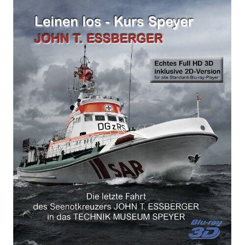 S. Junge - 3D Blu-ray (3D/2D) Seenotkreuzers John T. Essberger Leinen los - Kurs Speyer - Preis vom 18.09.2019 05:33:40 h