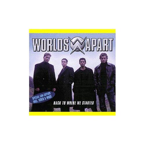 Worlds Apart - Back to Where We Started CD-en - Preis vom 06.05.2021 04:54:26 h