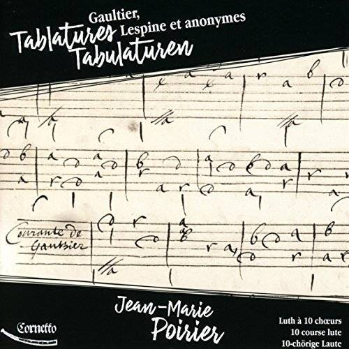 Jean-Marie Poirier - Tabulaturen - Lautenwerke - Preis vom 12.10.2019 05:03:21 h