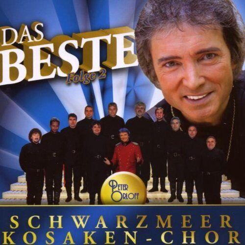 Orloff, Peter & Schwarzmeer Kosaken-Chor - Das Beste Vom Schwarzmeer Kosaken Chor Folge 2 - Preis vom 10.05.2021 04:48:42 h