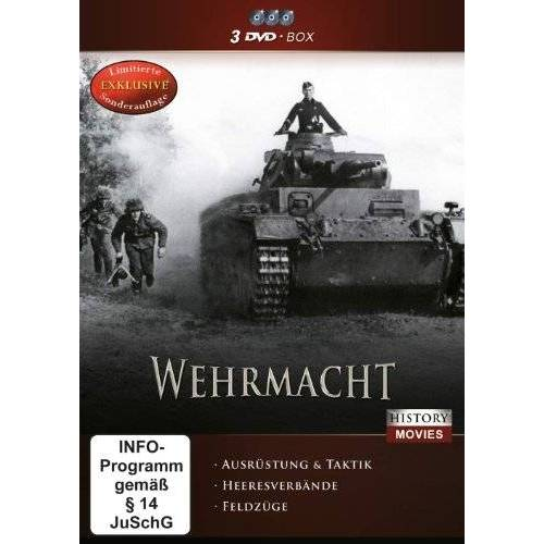 Various - Wehrmacht [3 DVDs] - Preis vom 28.02.2021 06:03:40 h