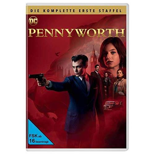 Jack Bannon - Pennyworth - Staffel 1 [3 DVDs] - Preis vom 24.02.2021 06:00:20 h