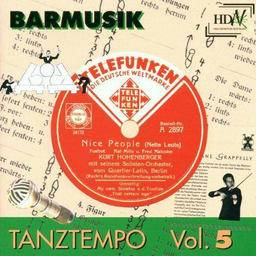 Various - Tanztempo 5-Barmusik - Preis vom 05.09.2020 04:49:05 h