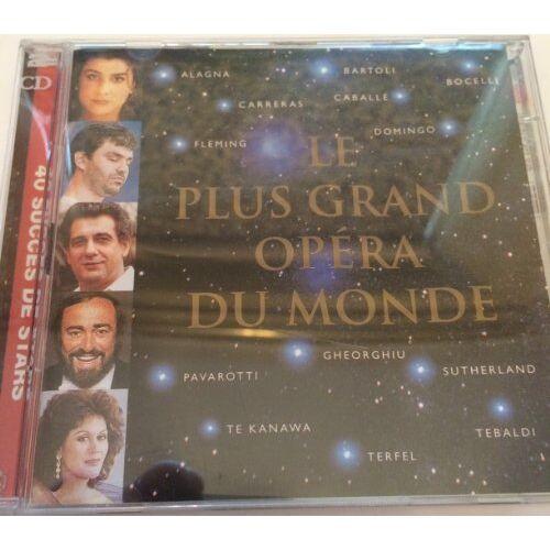 Cecilia Bartoli - Le Plus Grand Opera du Monde [Musikkassette] - Preis vom 10.04.2021 04:53:14 h