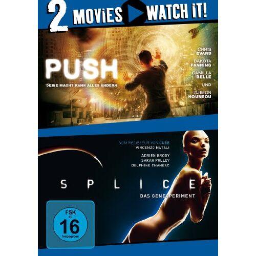 - Push/Splice [2 DVDs] - Preis vom 10.05.2021 04:48:42 h