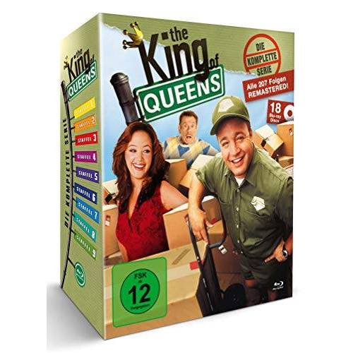- The King of Queens - Die komplette Serie - Queens Box (18 Blu-rays) (exkl. Amazon) - Preis vom 03.04.2020 04:57:06 h