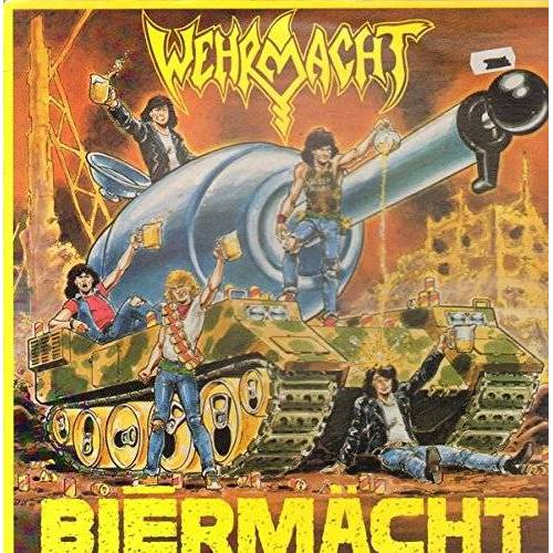 Wehrmacht - Bi?rmächt [Vinyl LP] - Preis vom 04.10.2020 04:46:22 h