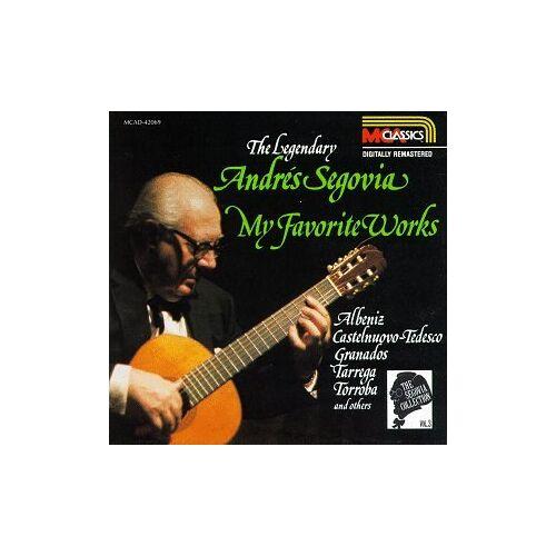 Andres Segovia - Segovia Coll Vol.3 - Preis vom 05.09.2020 04:49:05 h