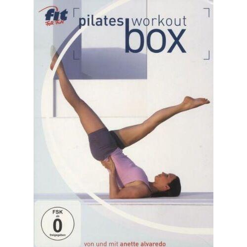 Anette Alvaredo - Fit for Fun - Die Pilates Workout-Box (3 DVDs) - Preis vom 28.03.2020 05:56:53 h