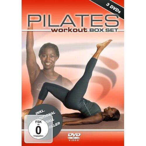 Juliana Afram - Pilates Workout - Box Set (3 DVDs) - Preis vom 15.10.2019 05:09:39 h