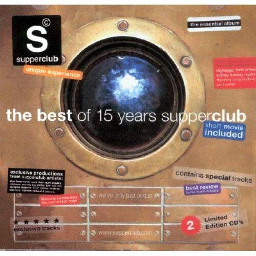 Various - Supperclub-Best of 15 Years Su - Preis vom 12.05.2021 04:50:50 h