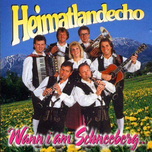 Heimatlandecho - Wann I am Schneeberg in d' Kir - Preis vom 16.05.2021 04:43:40 h