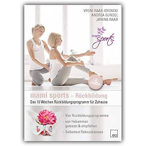 Vroni Raab-Kronski - mami sports - Rückbildung (2 DVDs) / Das 10 Wochen Rückbildungsprogramm für Zuhause - Preis vom 06.04.2021 04:49:59 h