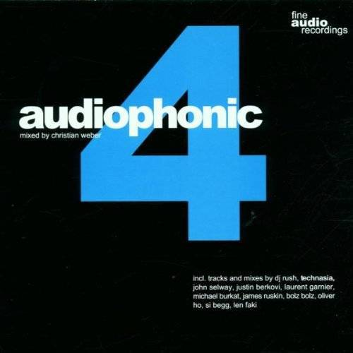 Christian Weber, Mixed By - Audiophonic Vol.4 - Preis vom 11.05.2021 04:49:30 h