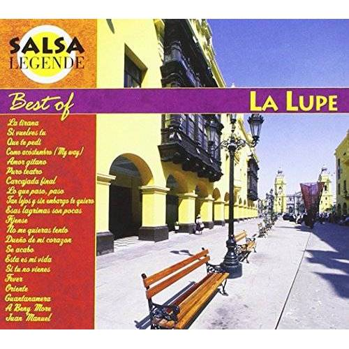 La Lupe - Salsa Legende Best of la Lupe - Preis vom 18.10.2020 04:52:00 h