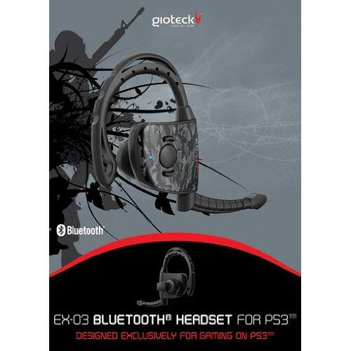 Gioteck - Playstation 3 - EX-03 Wireless Bluetooth Headset - Preis vom 14.11.2019 06:03:46 h