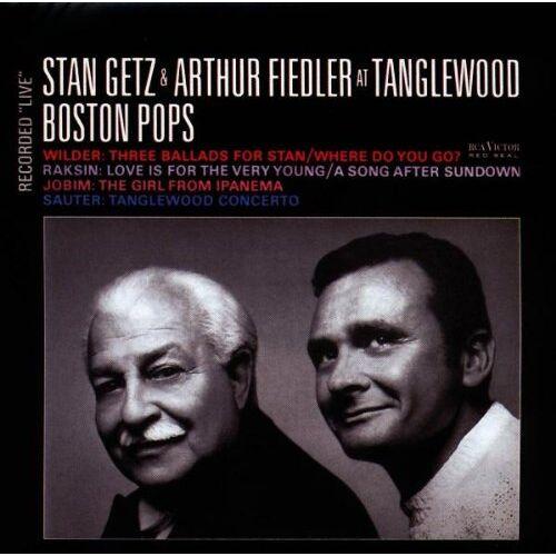 Getz, Stan & Fiedler, Arthur - Getz & Fiedler at Tanglewood - Preis vom 14.01.2021 05:56:14 h