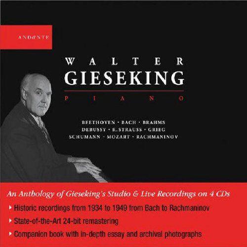 Walter Gieseking - Walter Gieseking,Piano - Preis vom 05.09.2020 04:49:05 h