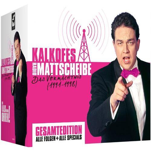 Kalkofes Mattscheibe - Kalkofes Radio-Mattscheiben-Komplett - Preis vom 03.09.2020 04:54:11 h