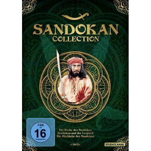 Luigi Capuano - Sandokan Collection (Die Rache des Sandokan / Sandokan und der Leopard / Die Rückkehr des Sandokan) [4 DVDs] - Preis vom 04.09.2020 04:54:27 h