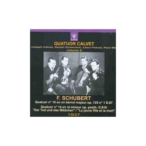 Quatuor Calvet - Quatuor Calvet Vol.2 - Preis vom 24.02.2021 06:00:20 h