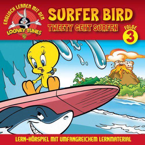 Looney Tunes: Lern-Hörspiel mit Tweety - 03: Tweety Geht Surfen/Surfer Bird - Preis vom 19.02.2020 05:56:11 h