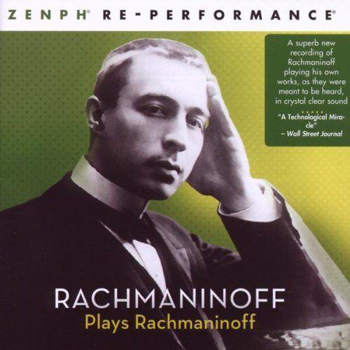 Zenph Studios - Rachmaninoff Plays Rachmaninoff - Preis vom 27.01.2021 06:07:18 h