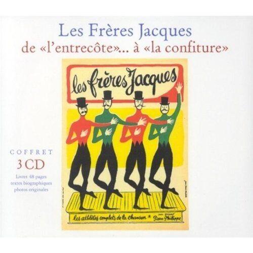 Les Freres Jacques - De L'entrecote a La Confiture - Preis vom 19.01.2021 06:03:31 h